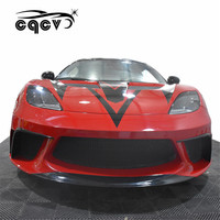 Body kit for Lotus Cars auto tuning front bumper rear bumper side skirts and wing spoiler trunk spoiler facelift car accessories
