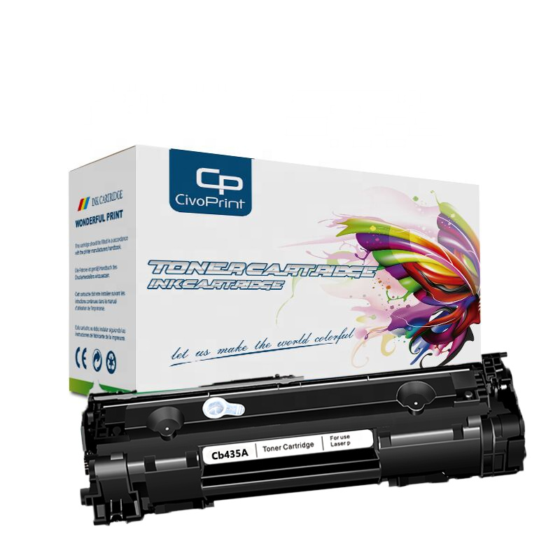 Civoprint hot sale 35A Black Laserjet <strong>Toner</strong> Cartridge Cb435A