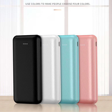 unique Dual input and output ports small size 10000mAh Slim portable Power Bank Portable External Battery Charger For all phones