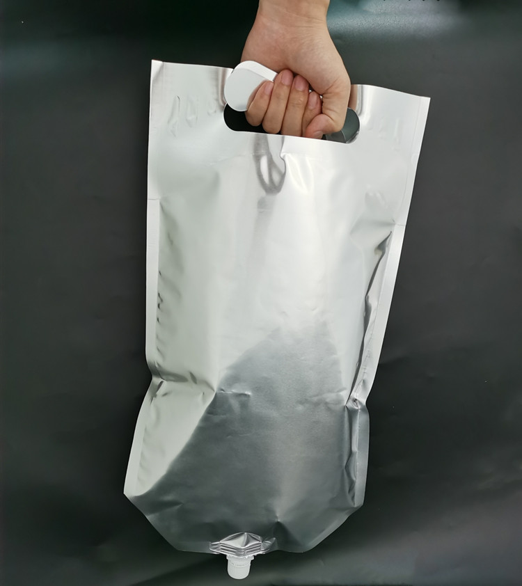 4L stable colostrum bag made of aluminum ideal suitable for filling pasteurizing freezing storing dispensing colostrum