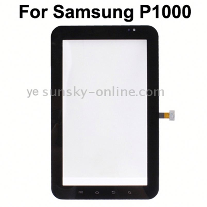 <strong>Touch</strong> Panel Digitizer Part for Galaxy Tab <strong>P1000</strong>/P1010(Black)