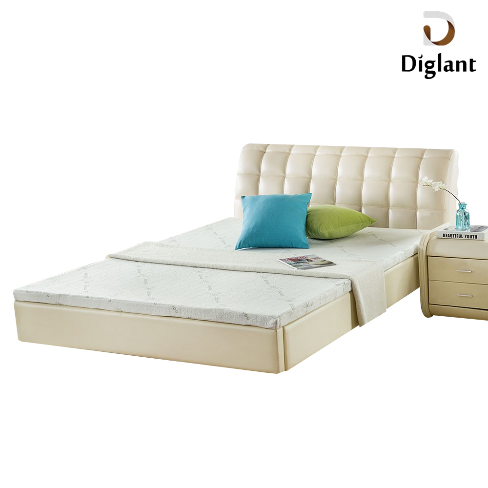 DM096 Diglant Gel Memory Latest Double Fabric Foldable King Size Bed Pocket bedroom furniture coconut spring mattress - Jozy Mattress | Jozy.net