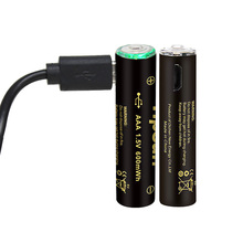aaa usb rechargeable <strong>batteries</strong> lithium ion <strong>battery</strong> with usb charge