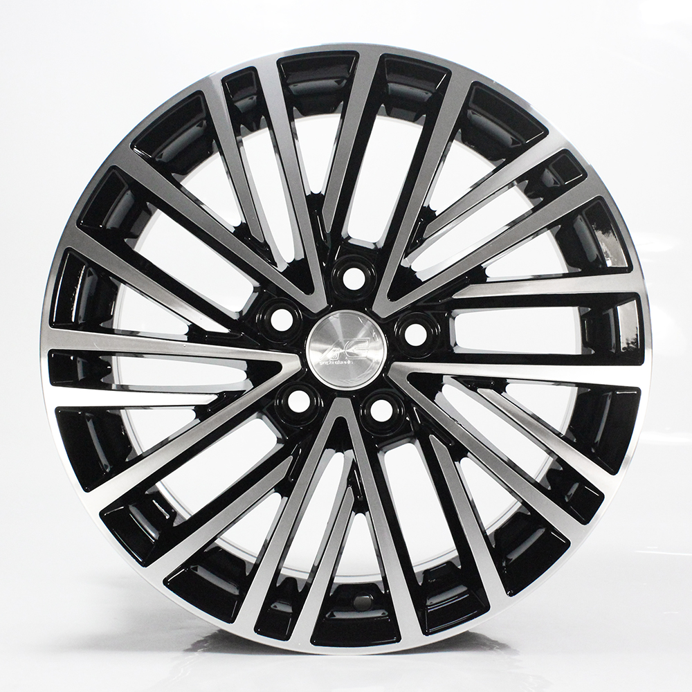 1363 14 15 inch solid wheels <strong>alloy</strong> for New vw Jetta Santana POLO spaceback Rapid 5 holes aluminum car wheels