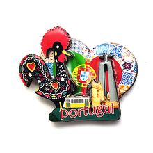 customized portugal 3d mdf souvenir <strong>magnets</strong>