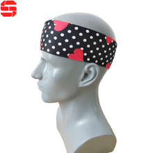 Fashion Designer Silk Elastic Hair Band Unisex Sports Custom <strong>headband</strong>
