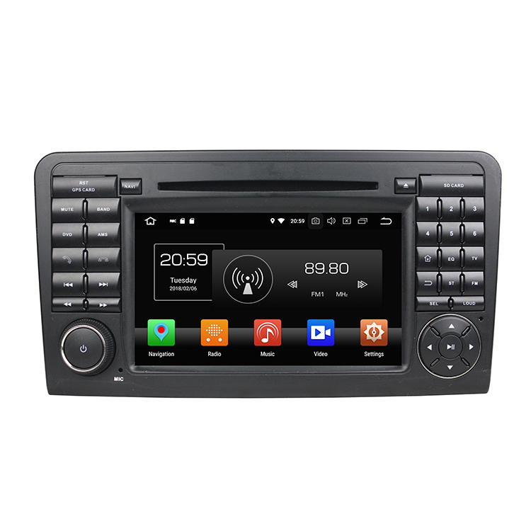 <strong>Android</strong> 9.0 Octa Core 4+32/64GB Car multimedia player car radio for Benz ML CLASS <strong>W164</strong> (2005-2012) (ML300,ML350,ML450, ML500)