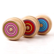 Children Gift Finger Magic Wooden <strong>YOYO</strong> Ball Spin Professional Classic Toys Yo Yo For Kids