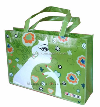 Direct manufacture customized pp non woven shopping bag
