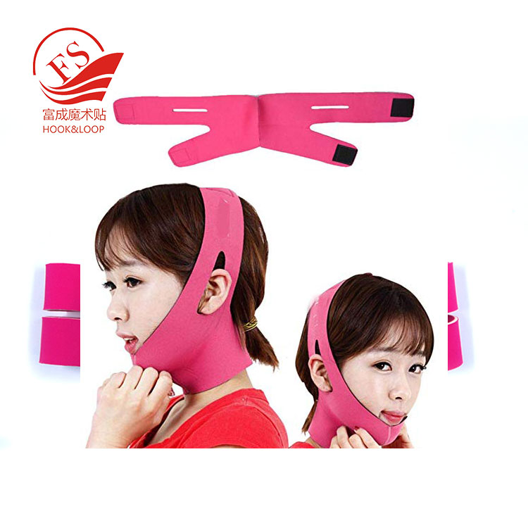 adjustable chin cheek slim lift up belt neoprene anti wrinkle belt breathable V face chin cheek