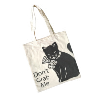 canvas lady tote bag