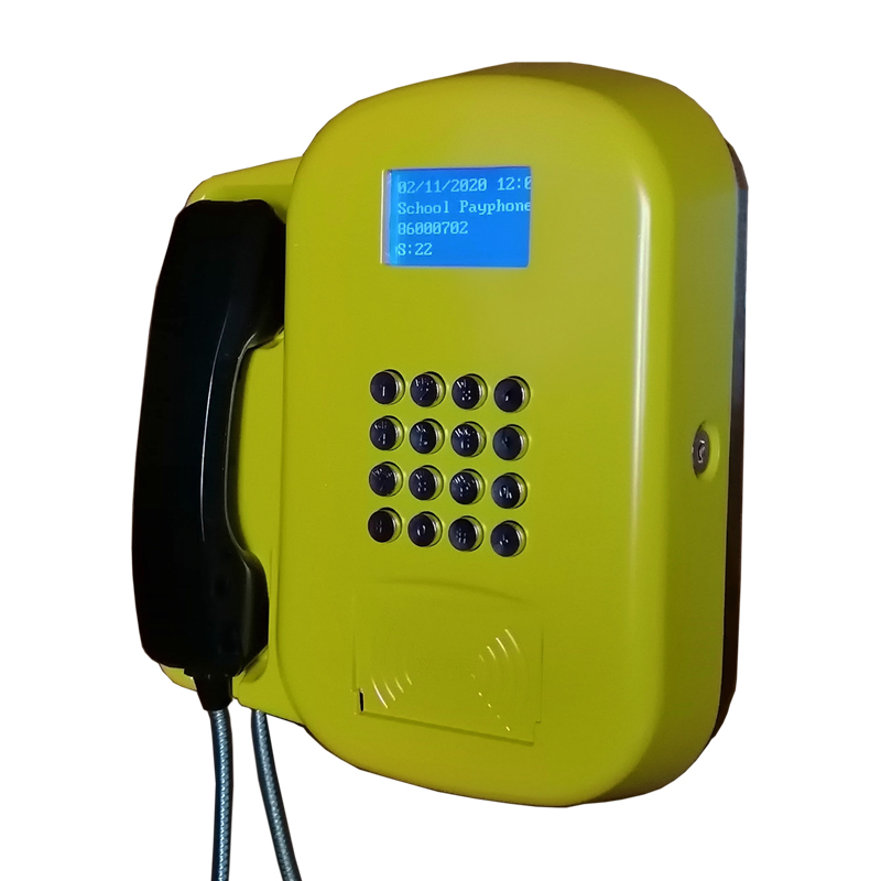 New Technology Lte Public Voip Phone Wall-mounted GSM Public Payphone 3G/4G RFID Payphones