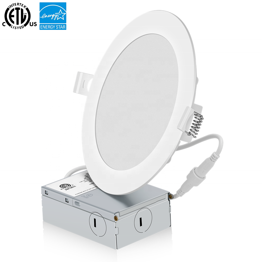 Factory sale ETL &amp; Energy Star listed recessed Led down <strong>lights</strong> 6 inch 12 Watt