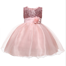 Princess Flower Girl <strong>Dress</strong> Summer Wedding Birthday <strong>Party</strong> <strong>Dresses</strong> For Girls Children's Costume New Year kids clothes