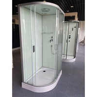 2020 new design bathroom quick installation shower room slding door glass shower cabin