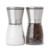 Set of 2 Adjustable Coarseness Stainless Steel Salt & Pepper Grinder