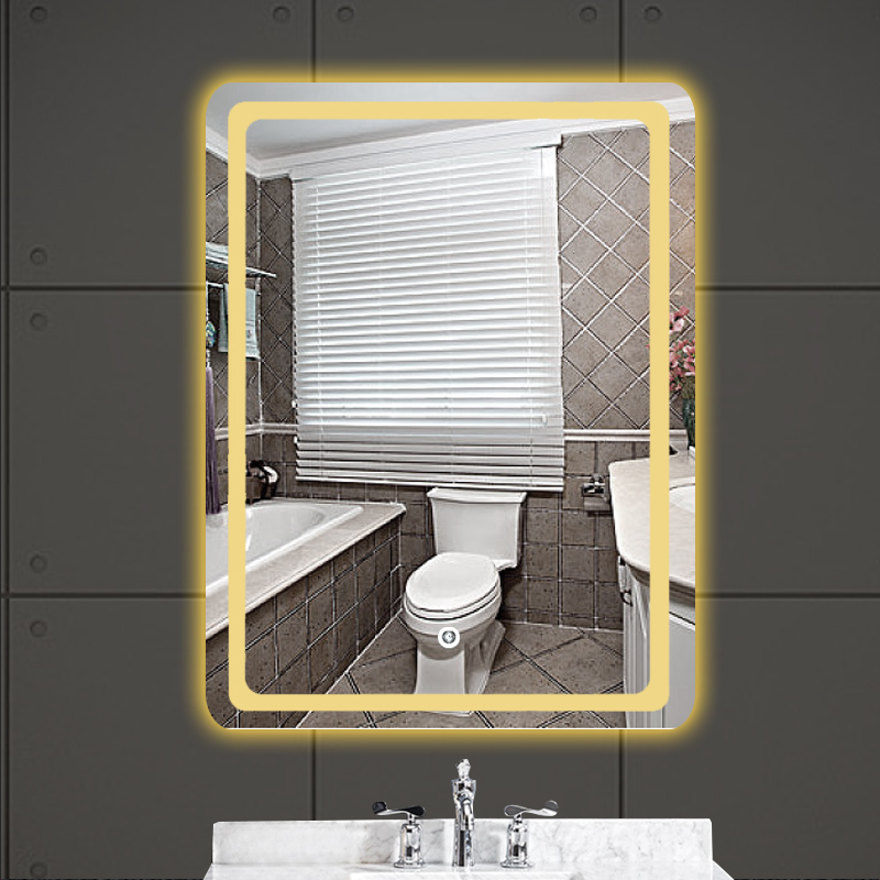 Custom multi-functional china manufacturer wall Smart fogless led make up mirror