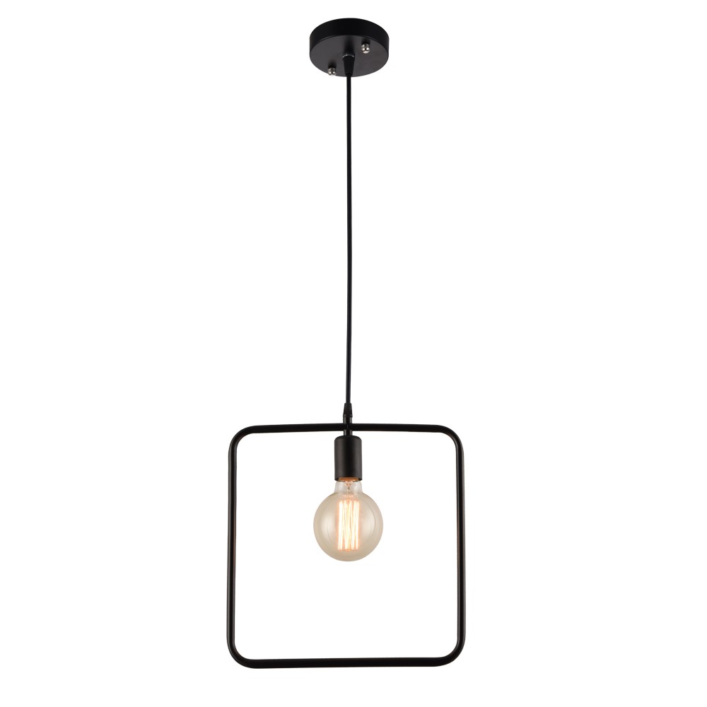 New design personality rectangular living room Iron chandelier pendant lamp