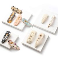 Newest Design Luxury Imitations Pearl Hair Clips Fancy Hair Ornaments Hand Made Pearl Hair Clip
