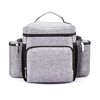 Multi-pocket Outdoor Family Beach Trip Picnic Tote Shoulder Cooler Box Insulated Lunch Bag