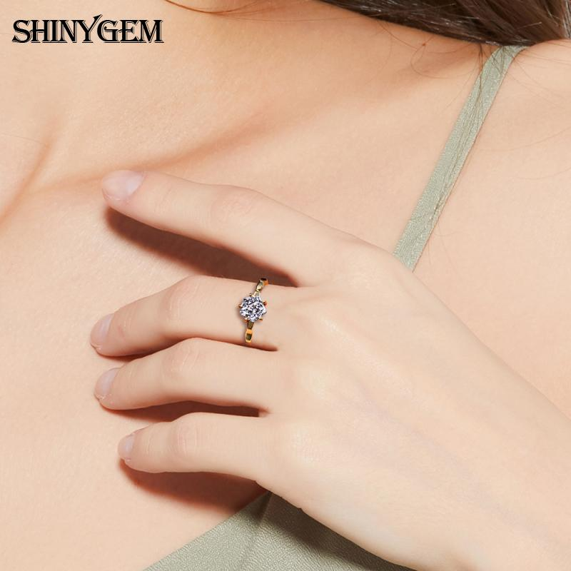 fashion gold plated engagement adjustable rings natural irregular druzy agate stone wedding ring for women