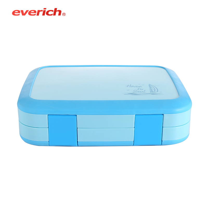 bento lunch box with compartment container food-grade Plastic <strong>PP</strong> quality for kids eco-friendly