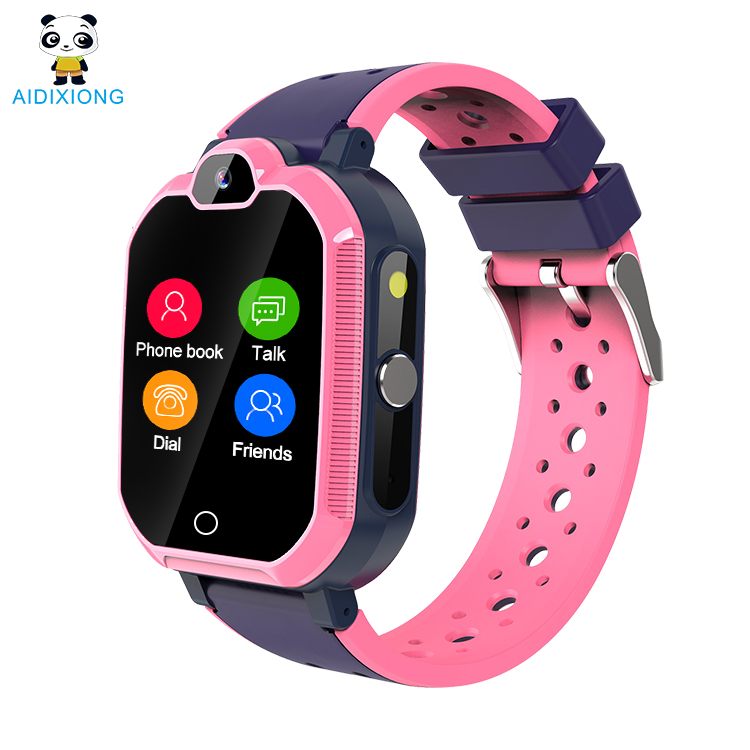 Boys Touch <strong>Screen</strong> Children's Waterproof Classic 4G Video Phone Call Swimming Smart Watch
