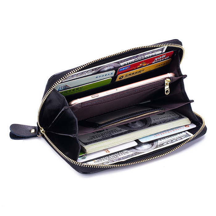 wholesale Print leather travel document holder wallet