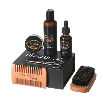 RTS ready to ship Amazon premium in stock low MOQ beard oil beard grooming kit