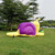 Inflatable castle Snail Shape Slide Outdoor Trampoline Children's Play Facilities