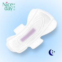 Customized your own brand maternity pads over night high quality sanitary pad for sale