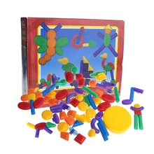 educational plastic building block diy toy for kids