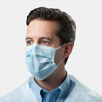 wholesale Non-Woven Anti Flu Virus Mascarilla 3 ply Faceshield Disposable face shield protector