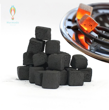 Eco-friendly Custom Cheap Price 1Kg Natural Coconut Shell Sawdust Cube Shape Block Hookah Shisha Charcoal