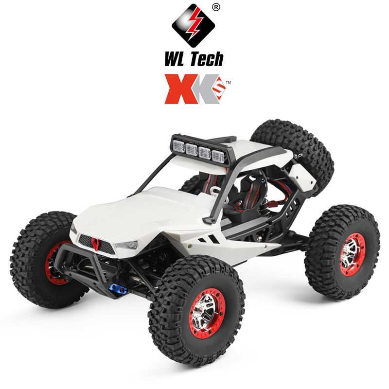 WL 12429 1:12 remote control electric 4WD climbing <strong>car</strong> with LED lights High speed off-road vehicle