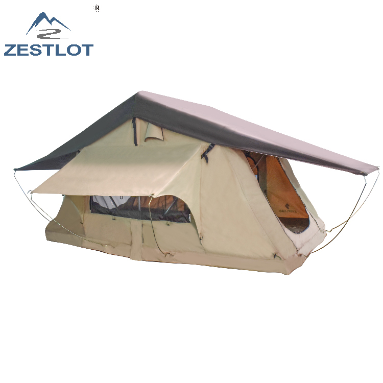 Vehicle offroad awning hiking camping rooftop tent with annex room