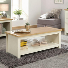 No.3415 Factory Hot Selling Coffee Table with Shelf
