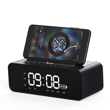 10W Multifunction Speaker as Phone Holder with Clock Speaker <strong>Bluetooth</strong>