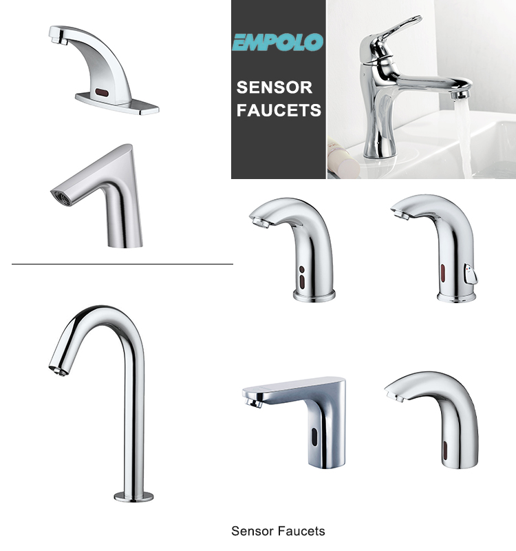 Touch Free Faucet Wash Hand Electronic Water Saving Automatic Sensor Infrared Faucet