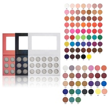 15 Color High Pigment Vegan No Logo Makeup Private Label Eye Shadow Palette
