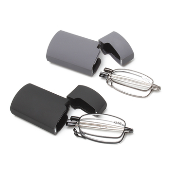 Hot selling metal folding reading glasses with case