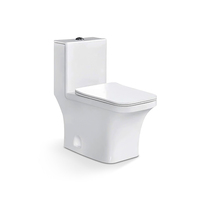 Sanitary Ware Bathroom Ceramic One Piece Toilet, Chinese Wc Toilet Bowl Price