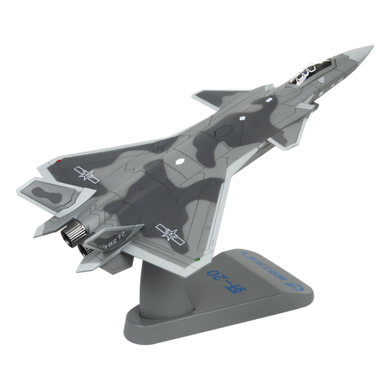 Model simulation of alloy 1 / 72 <strong>J</strong> <strong>20</strong> fighter