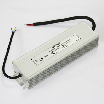 Indoor Outdoor LED Driver 12v DC for Wall Washer 120W LED Power Supply