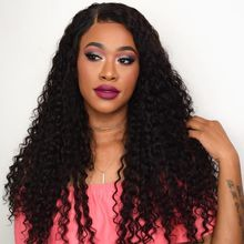 Wholesale price 150 Density Curly Human Hair Wig 13x4 Pre Plucked Lace Wig Sunlight Peruvian Remy Natural Curly Lace Front Wigs