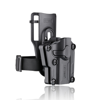 Cytac universal polymer holster with low ride belt clip OWB tactical holster
