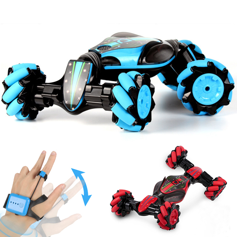 2 sides stunt watch sensor rechargeable 4wd boy r <strong>c</strong> plastic custom toy cars toys radio controlled car carro control remoto