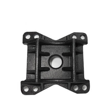 Densen Customized steel Water glass Casting and machining bottom plate for car,cast iron machine base
