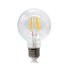 G80/95/125 LED filament bulb E26 E27 B22 Base dimmable clear&gold glass warm light 2/4/6/8w energy saving decorate bulb