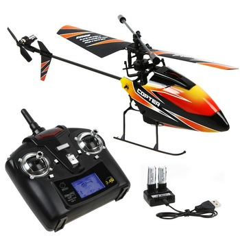 High Quality WLtoys V911 4CH 2.4Ghz Single Blade Propeller Radio Remote Control RC Helicopter